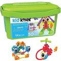 【KIDK'NEX/キッズケネックス】はじめてセット100ピースBuddingBuildersBuildingSet-100Pieces85618/ビギナー/組み立て/ブロック/パーツセット/おもちゃ/知育玩具/ギフト/クリスマス/プレゼント/誕生日/お祝い/