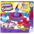 【KineticSand】キネティックサンド2LB(907g)付き10種類のツールセットおもちゃ/家遊び/砂遊び/プレゼント/不思議な砂