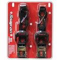 【SNAP-ON】 スナップオン 19544P-SNAP Ratchet Tie Down ラチェット式 タイダウンベルト 2本セット ラッシングベルト バイク/ジェットスキー/バギー/材木/ボード/ 荷物の固定に ラチェットベルト 荷締め