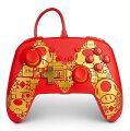 【NintendoSwitch】ニンテンドースイッチコントローラー(有線)ゴールデンMマリオ/ゴールド/PowerA/任天堂/スウィッチ/コントローラー/