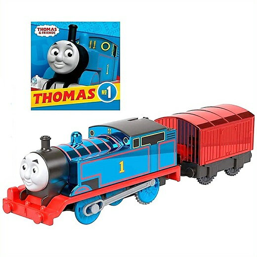 電車・機関車, 蒸気機関車 Fisher-Price 75 Thomas Friends Trackmaster Celebration Thomas Engine with Book Track Master