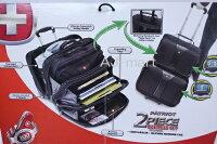 【送料無料】WENGERウェンガー2ピースビジネスキャリーバッグPCブリーフケース&トラベルキャリーバッグPCバッグ
