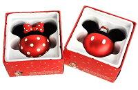 【Disneyディズニー】ミッキー・ミニークリスマスツリーオーナメントガラスオーナメント2個セットミッキーマウス/ミニーちゃん/ツリー/クリスマス