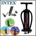 【INTEX】インテックス空気入れハイアウトプットハンドポンプ空気入れ/エアーポンプ/ゴムボート/浮き輪/ボール/軽量/プール/ビニールプール/レジャー