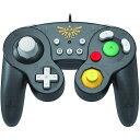 【Nintendo SWITCH】ニンテンドー スイッチ ゼルダの伝説 ホリ HORI クラシックコントローラー (有線) ゼルダ/ホリ/任天堂/スウィッチ/コントローラー/ ゲームキューブスタイル 1