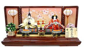 【送料無料】雛人形 親王飾り衣装着親王平台飾りセット【smtb-KD】K3138