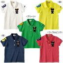 ミキハウス(夏物)mikihouseキングくん★半袖ポロシャツ日本製(100cm、110cm)