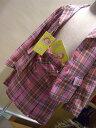 在庫限りで終了になります【送料無料】定価23700円+税をSALE)デイジーラバーズ(フォーマル)チェックジャケットとスカートをスーツして(120cm) 3