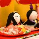 雛人形 コンパクト ひな人形 ちりめん 小さい ミニ 友禅お