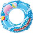 ●メール便OK【うきわ】WN3955 ジャンピングドルフィンウキワ55cm 子供用ビニールプール/ウキワ/水遊び/ヒオキ