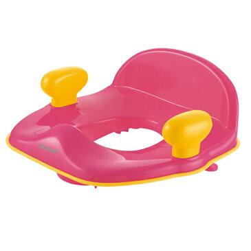 【richell】ポッティス 補助便座R (ピンク)便座シート付き 20662/トイレトレーニング/【リッチェル】  02P03Dec16