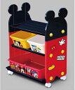 【日本製】錦化成 ミッキーマウス トイ・ステーション/組み立て式/キャスター付き/おもちゃ箱・本棚に/収納/お片付け/ディズニーキャラクター【Disneyzone】  02P03Dec16