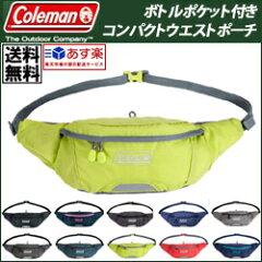 Coleman コールマン ウエストポーチ コンパクトウエストポーチ ランニングポーチ 容量1…