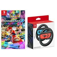 【新品】マリオカート8デラックス+Joy-Conハンドル2個セットNintendoSwitch