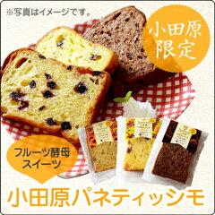神奈川県オリジナルブランドの湘南ゴールドを使用したフルーツ酵母スイーツ「小田原パネティッ...
