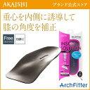 【AKAISHI公式通販】アーチフィッターインソールO脚用重心を正しい...