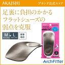 【AKAISHI公式通販】アーチフィッターインソール フラットシューズ...