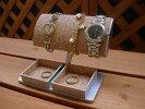 大き目だ円パイプ腕時計スタンドトレイ付き