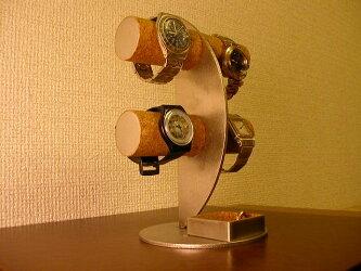 三日月ムーン腕時計ディスプレイスタンド!角トレイバージョン