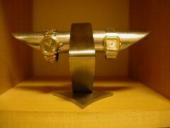 腕時計スタンド デザイン4本掛け腕時計スタンド★ステンレス製