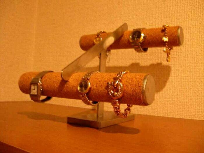 腕時計スタンド 8本掛けスロープ腕時計スタンド★AK88
