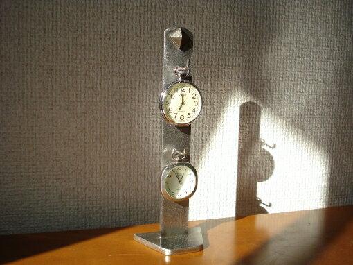 懐中時計 飾る  立体2本掛けタワースタンド CK25