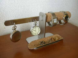 ダブルウォッチ&ダブル懐中時計ロングトレイバージョンDK1