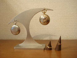 懐中時計&木製リングダブルスタンドKRSD221