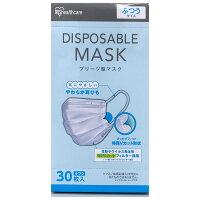 マスク 【在庫あり】プリーツ型 マスク 普通サイズ 30枚入り アイリスオーヤマ