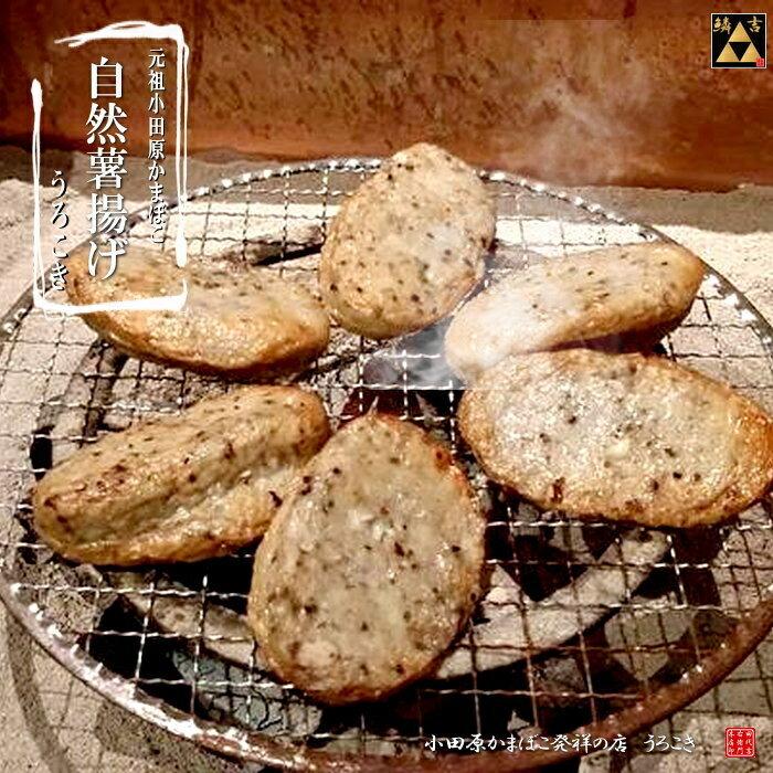 小田原鱗吉箱根山薬自然薯揚げ2個セット◎小田原老舗のおいしいかまぼこご贈答ギフト