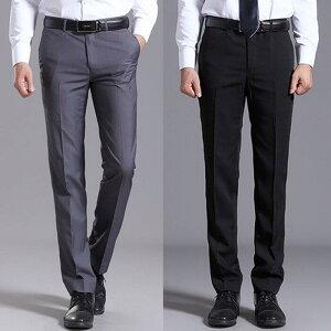 スラックス パンツ メンズ フォーマル ビジネス 礼服 ドレス シンプル ロング 通勤 仕事 男性 定番 スーツ ボトムス 大きいサイズ