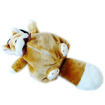 動物 (アニマル) ぬいぐるみ リュック きつね 大  リュックサック キツネ 狐 きたきつね キタキツネ どうぶつ 子供用 キッズ かわいい 雑貨 誕生日 クリスマス プレゼント 贈り物 ギフト グッズ おもしろ雑貨 面白