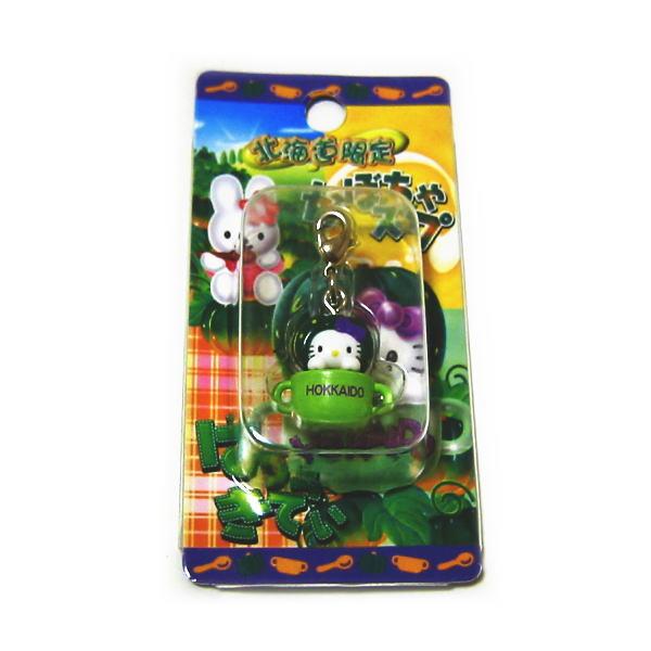 產品詳細資料,日本Yahoo代標 日本代購 日本批發-ibuy99 興趣、愛好 收藏 收藏娃娃 北海道限定 ご当地キティ かぼちゃ スープ キティ ファスナー マスコット