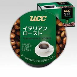 キューリグ(KEURIG) [SC8023] K-Cupパック UCC イタリアンロースト 7.5g×12個入