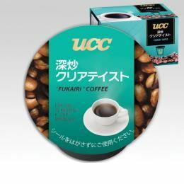 キューリグ(KEURIG) [SC8024] K-Cupパック UCC 深炒クリアテイスト 7.5g×12個入
