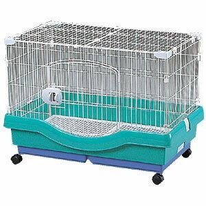 小動物快適ケージ RU-800 パステルグリーンペット用品 ペットと暮らす 飼育 生活用品 【アイリスオーヤマ】