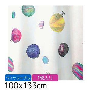 【TD】ミッキー コスモ デザインレースカーテン M-1061 100×133cm 1枚入りM× 日よけ 目隠し 日差し 【スミノエ】
