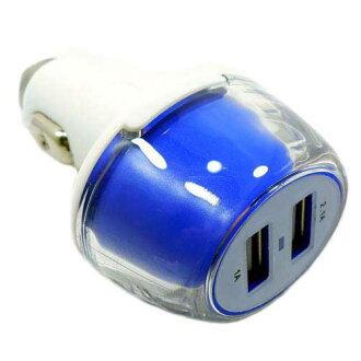 充電2端口USB輸出5V/3.1A 12V/24V車坐車支持快速充電器2port雪茄插口汽車充電器雪茄充電器汽車充電器!