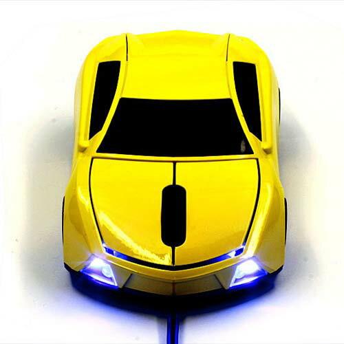 Lumenルーメンミニカーマウス伊国車にソックリ オプティカルカーマウス光学式マウス800dpi c
