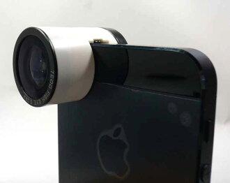 流明 LM FMW 白色 1 3 在鏡頭 iPhone5/5 s en 全/宏/魚眼鏡頭廣角鏡頭 (0.67 x) / 微距鏡頭和魚眼夾式相機