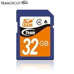 送料無料ネコポス限定SDHCカード32GBSDメモリーカードSDHCClass4TeamTG032G0SD24X