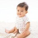 【公式ショップ赤ちゃんの城】ベビー肌着ミニオールフライス春夏秋冬607080日本製トリコロール