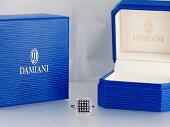 【DAMIANIダミアーニ】天然サファイアダイヤリング750WGホワイトゴールド天然サファイア天然ダイヤモンド【中古】【新品仕上げ】