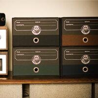 収納ケース【ダブルボトムALEX】ブラック8色289×345mmおしゃれ波佐見DOUBLEBOTTOMALEX引き出し収納棚収納紙製インテリア洋服棚衣装ケースかわいいおもちゃ箱かっこいい男前日本製