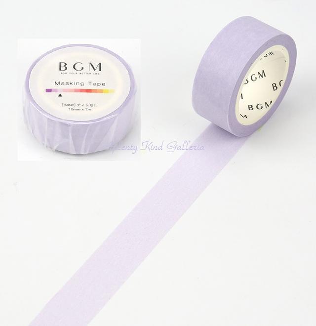 ギフトラッピング用品, デザインマスキングテープ BGM 15mm BM-B003 ()BGM 15mmBasic3cmOK