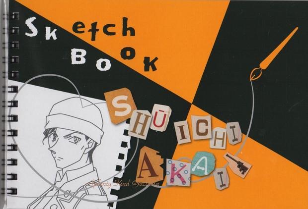 画材用紙, スケッチブック New HG8855 SHUICHI AKAI13Sketch Book3cmOK