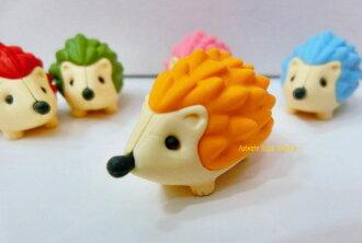 Halinezumikesigom 黃色 / 黃色 ER-HAR001-黃色 ★ 動物橡皮擦刺蝟玩具橡皮擦橡皮擦那樣有趣 ! 掉白色的橡皮邊包 ★