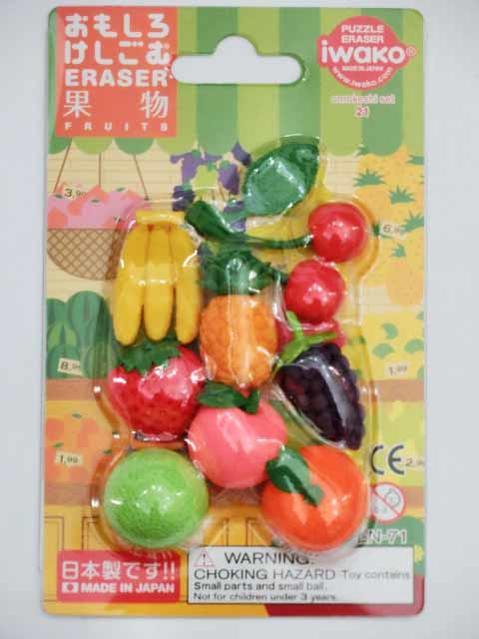 消しゴム・修正用品, 消しゴム fruits ER-BRIO24 83cmOK