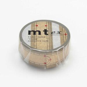【2014年9月新商品】 カモイ/マスキングテープ mt ex竹定規 mtex1p97