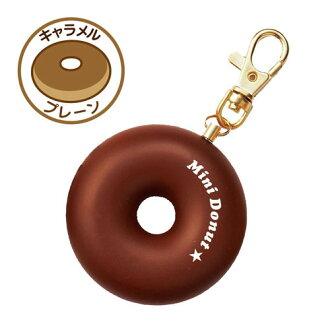 供供Kutsuwa/Hi LiNE小甜甜圈防止犯罪警報(焦糖)SL019B★kawaiibohanguzzu/護身使用的/非常使用的鈴/防止犯罪商品/蜂鳴器★★3cm]